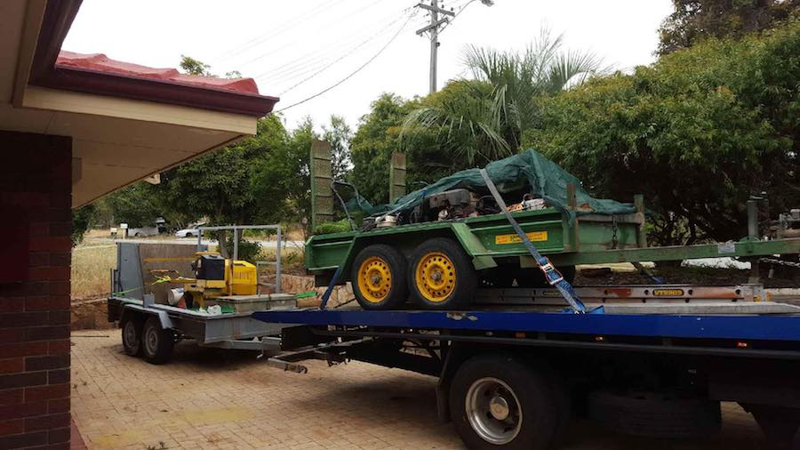 machinery tilt tray service perth