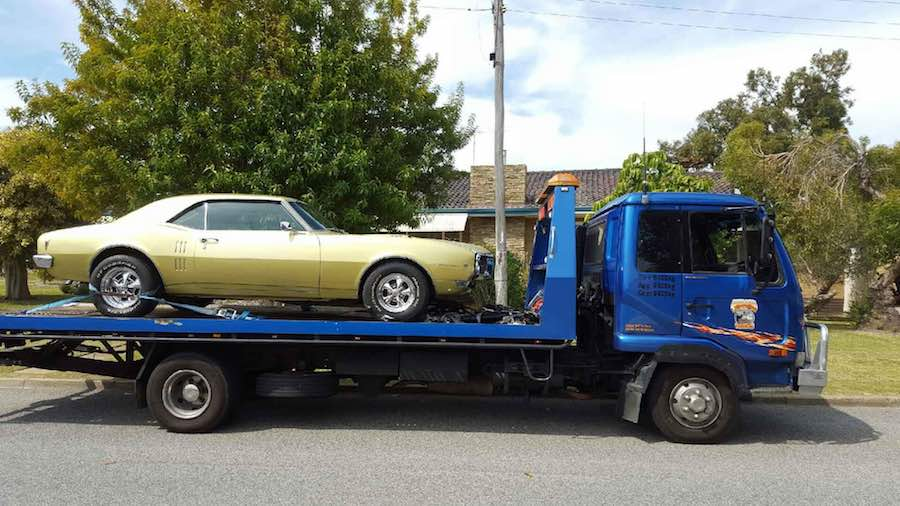 perth car towing