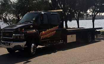 Tow truck providing service in Perth